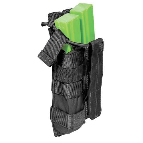 5.11 Doppel MP5 Bungee Abdeckung Mag Tasche Schwarz