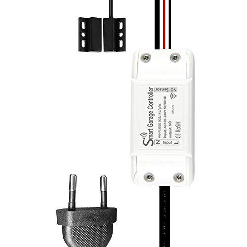 KKmoon Wifi-Schalter smart-Schalter Switch Smart Garagentoröffner-Controller smart Home Switch mit Intelligentes Gerät und IFTTT Smart Life/Tuya APP-Steuerung