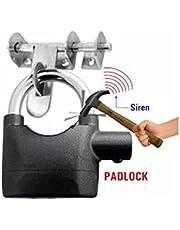 VelKro Motion Sensor Alaram Lock for Home, 1pc(Black Color)