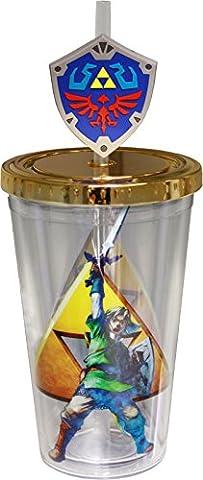 Zelda Carnaval Tasse avec loupe moulé sur Paille
