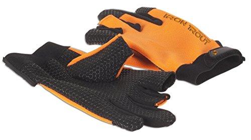 Iron Trout Hexagripper Glove Landehandschuh Gr. L 7160051 Handschuh Angelhandschuh