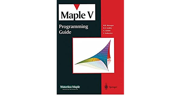 buy maple v programming guide book online at low prices in india rh amazon in maple introductory programming guide maple introductory programming guide pdf