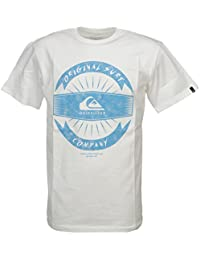 Quiksilver - Spinner blc print trq tee - Tee shirt manches courtes