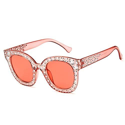 YUHANGH Dame Sunglasses Stars Decoration Shades Weibliche Sonnenbrillen-Ozean-Linse Personifiziertes Im Freien