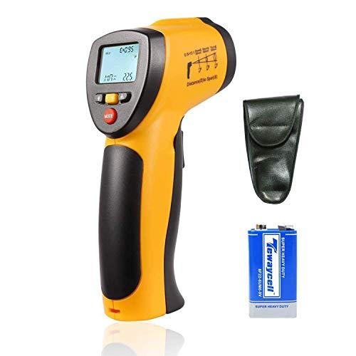 Digitales Infrarot-IR-Thermometer, berührungslose Laser-Temperaturpistole -58°F bis 716