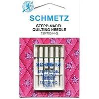 Schmetz Quilting Nadel Range (Packungen von 5)–verschiedene Größen, 75/11 (Finest)