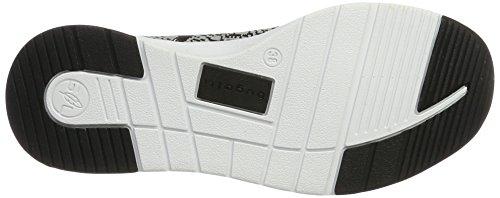 Bugatti 441271626059, Sneaker Donna Schwarz (noir / Gris)