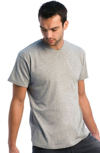 B&C - V-Neck T-Shirt Black