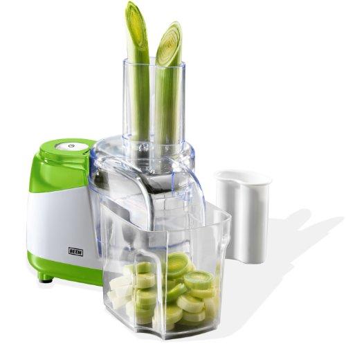 elektro gemueseschneider BEEM D2000240 Compact Power-Mixx Plus Universal-Küchenmaschine 450 Watt mit 250 ml Frischhalte-Box