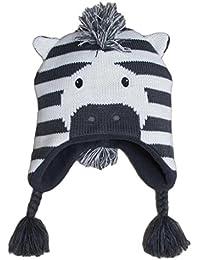 Frbelle® Bébé Enfant Bonnet Chaud Mignon Animal Zèbre Beanie Chapeau  Crochet Tricot Automne Hiver pour 6 12 18… 18adcdf5804