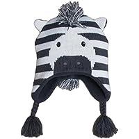 Frbelle® Bébé Enfant Bonnet Chaud Mignon Animal Zèbre Beanie Chapeau  Crochet Tricot Automne Hiver pour 8850ffcce17