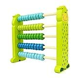BRZM Giocattoli per Neonati e Bambini Calcolatore di sottrazione di additivi per Bambini Giocattolo educativo Verde Abaco didattico aritmetico