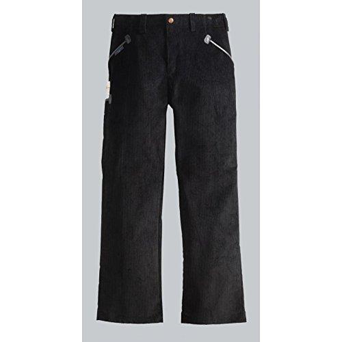 Preisvergleich Produktbild PIONIER WORKWEAR Herren Cord-Arbeitshose Herforder Zunftkleidung in schwarz (Art.-Nr. 69) schwarz,Größe 50