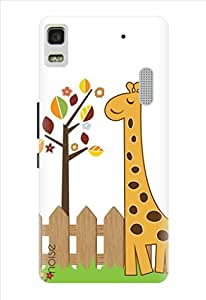 Noise Happy Giraffe Printed Cover for Lenovo K3 Note