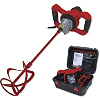 Rubi 26924 Mezclador Rubimix-9 N Plus con maletín, 1600 W, 240 V, Rojo