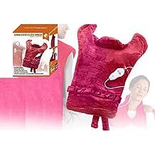 Chaleco Eléctrico Térmico y Masaje Esterilla caliente Cervicales Espalda