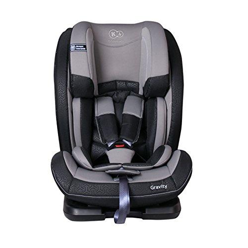 Kinderkraft Gravity Kinderautositz Autositz Kindersitz Autokindersitz 9 bis 36 kg Gruppe 1 2 3 Grau