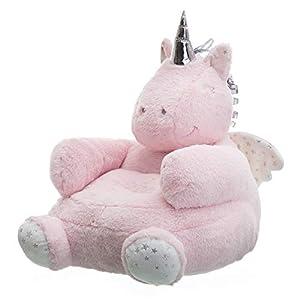 Púff Unicornio Rosa Infantil de