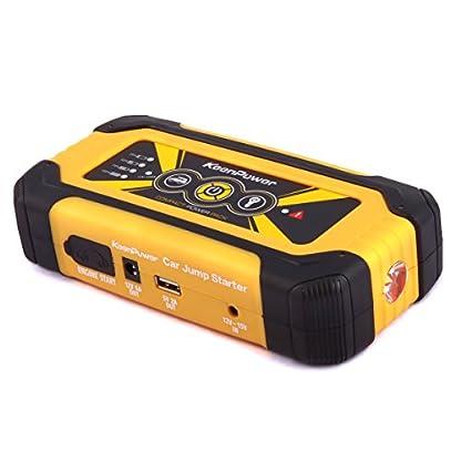 41o6R2w1YZL. SS416  - Keenpower Car Jump Starter 12V Car-Stlying Dispositivo de inicio Cargador Car Battery Booster Buster