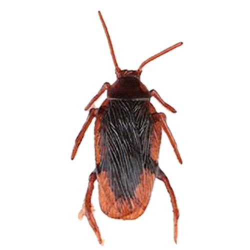 Outflower Faux Cafards Créatif Rusé Props Insectes Vivants Effrayant Drôle