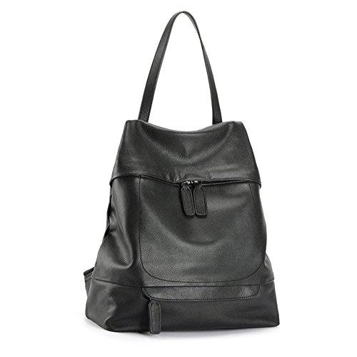 Sacchetti di spalla delle signore/ nero moda casual zaino-A A