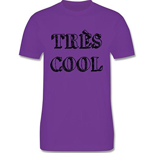 Statement Shirts - Très cool - Herren Premium T-Shirt Lila