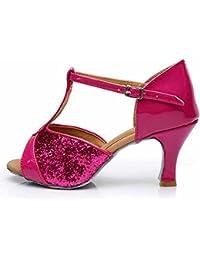 misu - Zapatillas de danza para mujer Gris gris, color Gris, talla 36.5