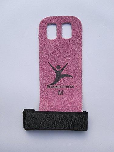 Inspired fitness - Protectores de manos para entrenamiento rosa rosa Talla:small