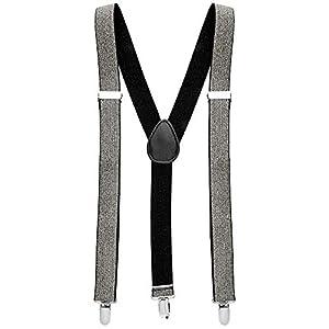 WIDMANN vd-wdm8153s tirantes Lurex, Plata, talla única
