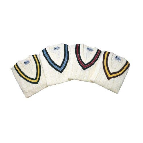 GUNN & MOORE Teknik Cricket Slipover Verde/Giallo