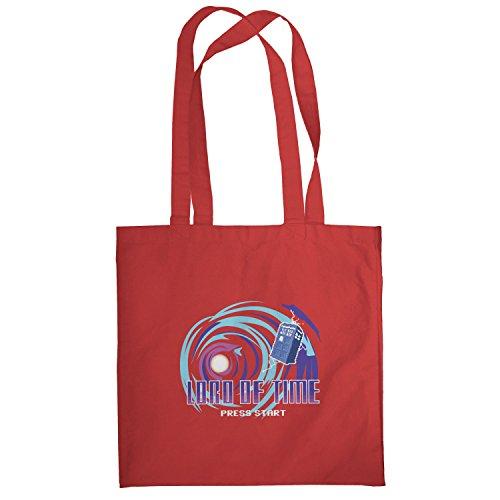 Texlab–Lord Of Time Video Game–sacchetto di stoffa Rot