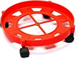 #5: Zamp Gas Cylinder Trolley With Wheels Gas Trolly LPG Cylinder Stand Multi Color