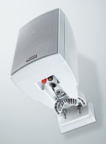 Magnat Symbol Pro 160 I Multifunktionale Musikbox mit Bassreflexgehäuse I 1 Paar 2-Wege-Lautsprecher für Regal- und Wandmontage, Farbe:Weiß