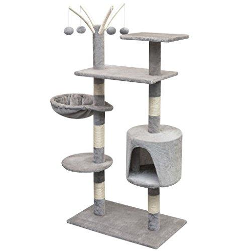 Festnight Rascador para Gatos Escalador para Gatos 96 x 35 x 125 cm