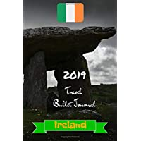 tenty.co.uk 2019 Travel Bullet Journal Ireland: Turn your adventures into a life-long memory with this notebook planner and organzier.