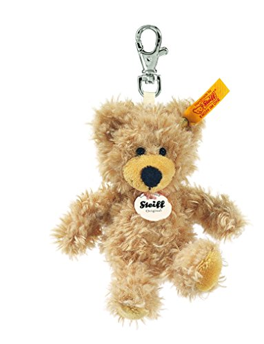 Steiff 111884 - Schlüsselanhänger Teddybär Charly, beige