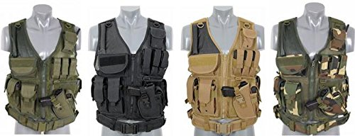 Taktische Einsatz Weste Typ SWAT / Navy Seals Tactical Vest Combat AirSoft Paintball