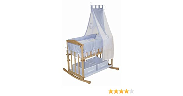 Roba 8943 p60 babysitter 4 in 1 stubenbett: amazon.de: baby