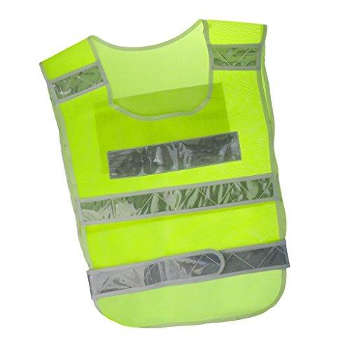 Electroprime® Lightweight Safety Vest Reflective Waistcoat Safety Jacket for Working