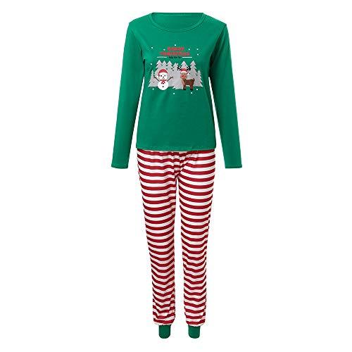 f35a420c8ec88 LHWY Pyjama Noel Famille Père Noël Mère Garçon Fille du Nouveau-né Bébé  Pyjamas à