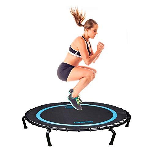 Livepro - trampolino tappeto elastico professionale 102 * 102cm cardio allenamento esercizi fitness palestra yoga