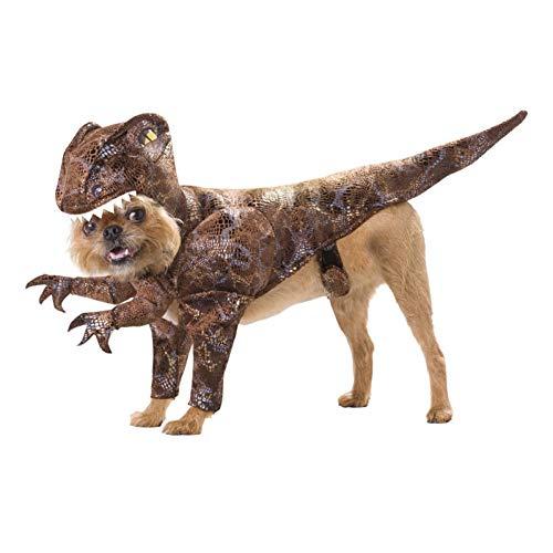 LCWYP Haustier Halloween Lustige Hundekostüme Halloween Haustier Katze Kostüm Party Hund Kleidung Dinosaurier Für Kleine Hundewelpen Mantel Outfit (Kleine Dinosaurier Kostüm)