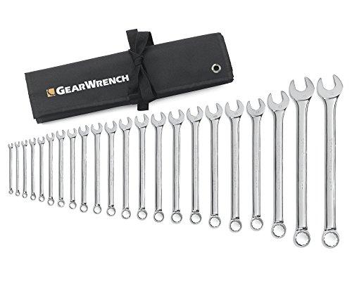 GearWrench 8191621Stück Metrische Kombination Schraubenschlüssel Set (Gearwrench Kombination Metrisch)