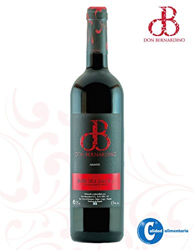 Vino Tinto Mencía Joven Don Bernardino D.O. Ribeira Sacra 75cl ( Estuche 3 Botellas )