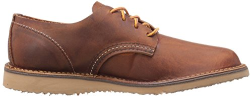 Red Wing Mens Weekender Oxford Leather Shoes Marron