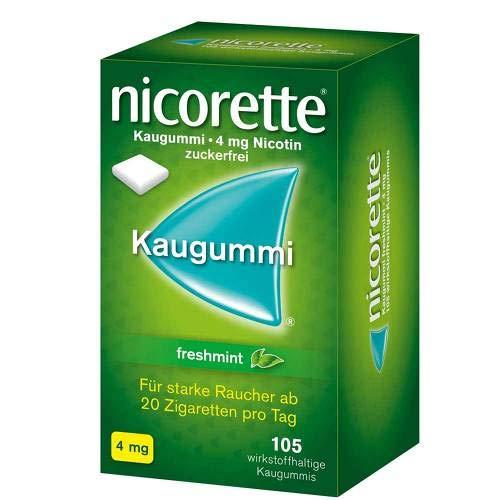 Nicorette 4mg freshmint 105 stk