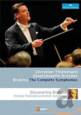 Brahms: Sämtliche Sinfonien (Thielemann / Staatskapelle Dresden) [Blu-ray]