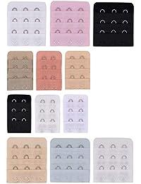 YOFASEN Extensores de Correa del Sostén - 16 Piezas Extensiones de Banda Sujetador 2 Ganchos y 3 Ganchos para Mujer