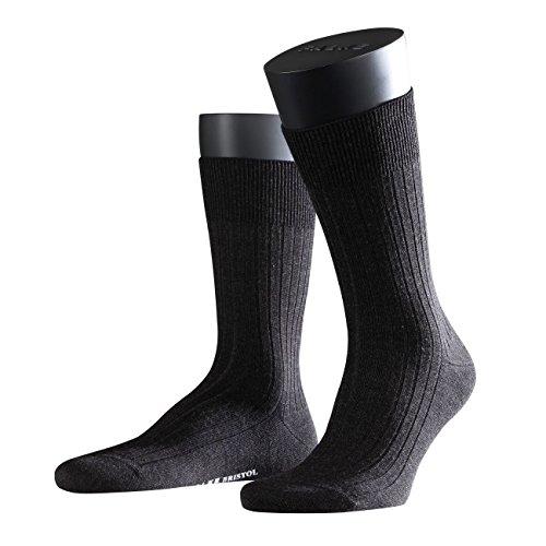Merino Wolle Quarter Socken (Falke City Herren Socken Bristol Pure 3er Pack)