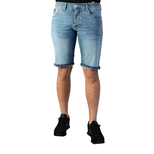 Kaporal Jeans - Bermuda-Mann Kaporal VITO Block - 32, Blau -